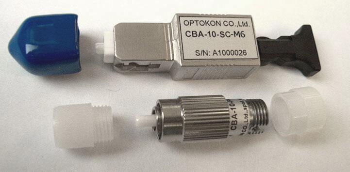 Оптические аттенюаторы разъемного типа Male-Female singlemode