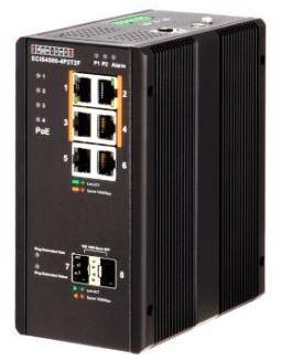 Управляемый коммутатор ECIS4500-4P2T2F с РоЕ