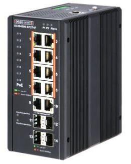 Управляемый коммутатор ECIS4500-8P2T4F с РоЕ