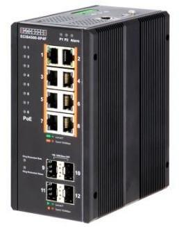Управляемый коммутатор ECIS4500-8P4F с РоЕ
