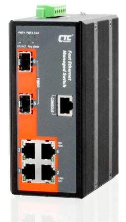 Управляемый коммутатор серии IFS-402GSM 4x10/100Base–T + 2 SFP Gigabit Ethernet серии IFS-402GSM