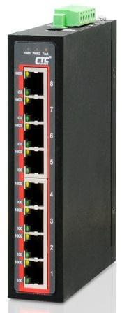 Неуправляемый коммутатор серии IGS-800 Gigabit Ethernet 8x 10/100/1000Base–T