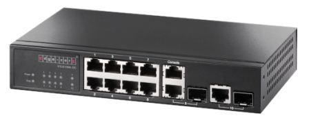 Управляемый ES3510MA-DC L2 коммутатор доступа